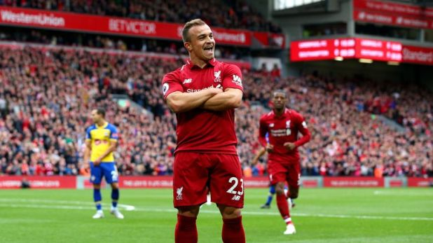 Xherdan Shaqiri is the most skilful player for Liverpool