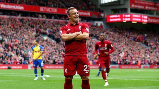 Xherdan Shaqiri is the most skilful player for Liverpool