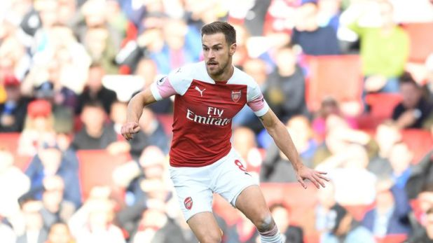 Aaron Ramsey is out of contract at the end of the season