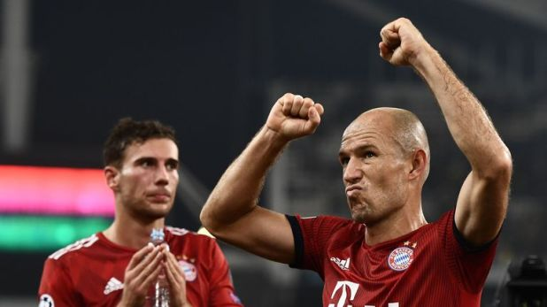Both Arjen Robben and Franck Ribery are out of contract this summer
