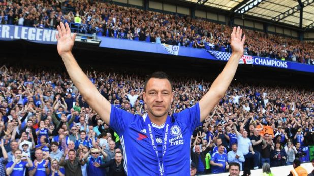 Terry spent the majority of his career at Chelsea