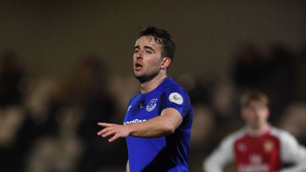 Jose Baxter became Everton's youngest-ever player when he made his debut against Blackburn Rovers in 2008