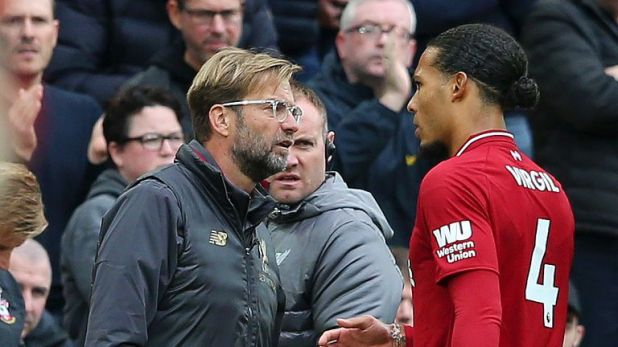Van Dijk signed joined Liverpool from Southampton in January
