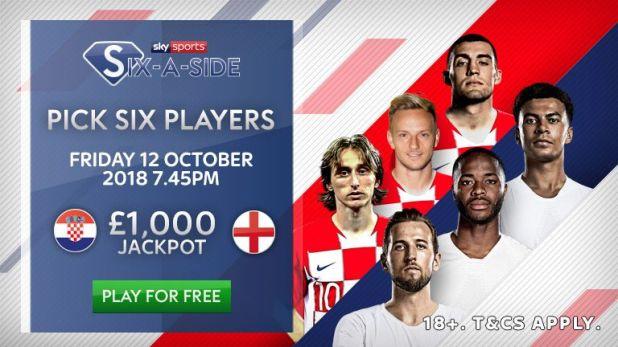 Sky Sports Six-a-Side: Croatia v England