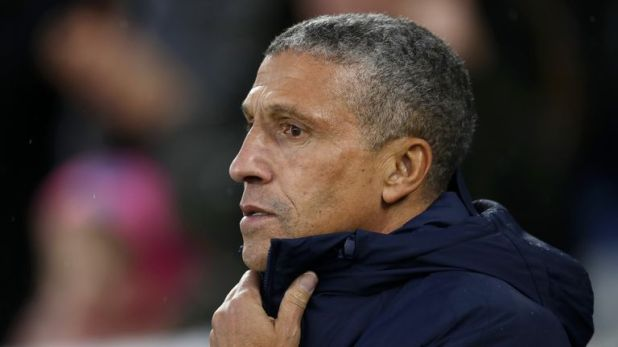 Brighton boss Chris Hughton expects a tough afternoon at Bournemouth