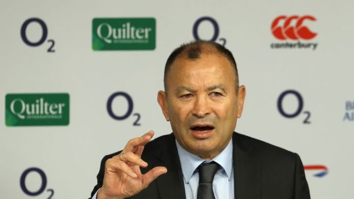 Eddie Jones will feel the media heat when England lose to South Africa