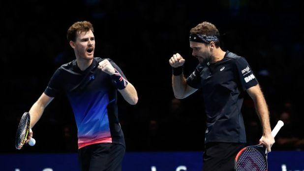 Murray and his partner Bruno Soares have qualified for the semi-finals of the ATP Finals without losing a match