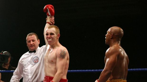John Fewkes (left) will be in Kell Brook's corner for the first time