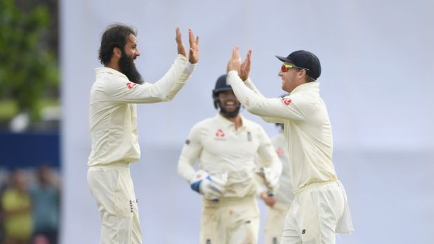 Moeen Ali scored nought and three with the bat but took eight wickets