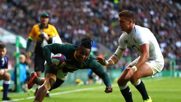 Sbu Nkosi impressed at Twickenham on Saturday