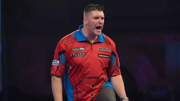 Gurney picked up three points from his two Premier League meetings against Van Barneveld in 2018