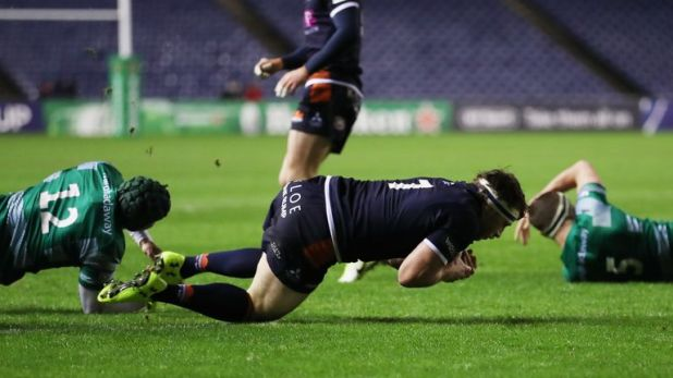 Watson notched the game's opening try after 15 minutes