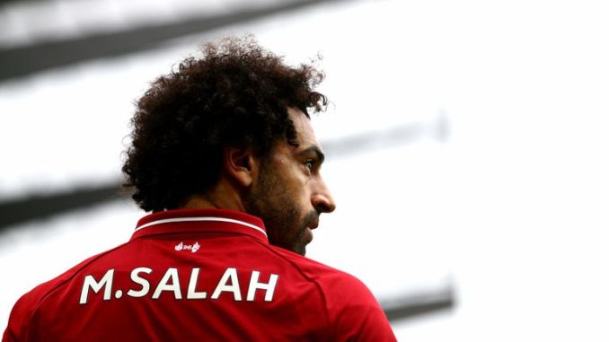 Salah has continued his scoring exploits this season and currently tops the charts