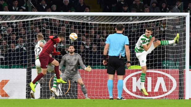 Dabour has 20 goals in 30 appearances this season - including against Celtic in the Europa League