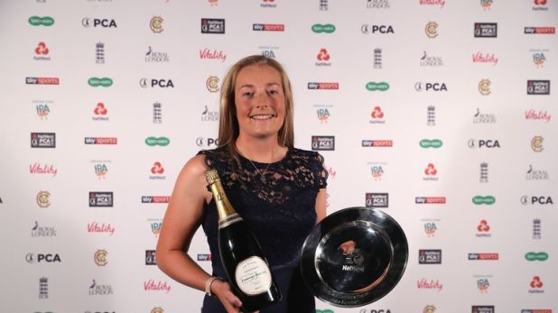 Ecclestone was named the PCA's Women's Player of the Year for 2018
