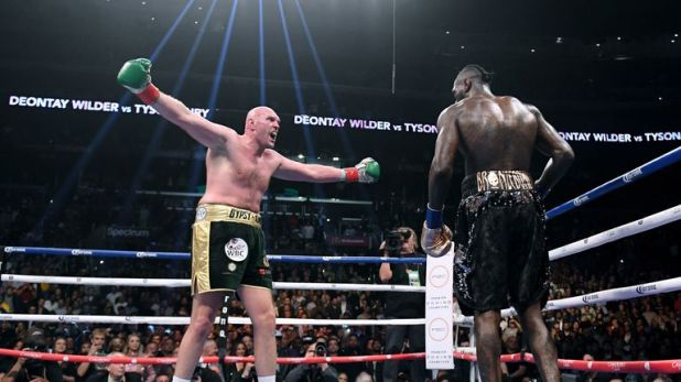 Fury made a confident start to the fight in Los Angeles