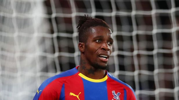 Wilfried Zaha was a constant menace for Crystal Palace