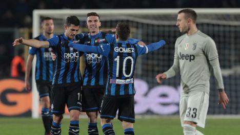 Image result for Atalanta vs Juventus Coppa Italia photos
