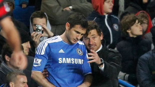 Andre Villas-Boas was a scout and later become manager during Frank Lampard's time at Chelsea