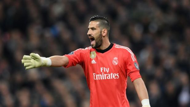 Real Madrid goalkeeper Kiko Casilla could be the answer to Leeds' shortage of goalkeepers
