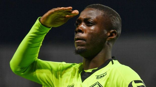 Nicolas Pepe has been in fine form this season for Lille