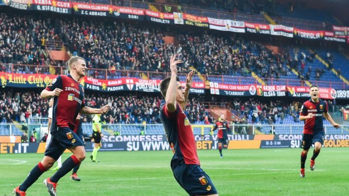Piatek has scored 19 goals in 21 appearances for Genoa this season after joining from Cracovia in the summer