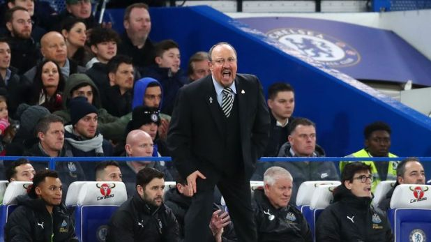Rafa Benitez has defended his team selection from the first round