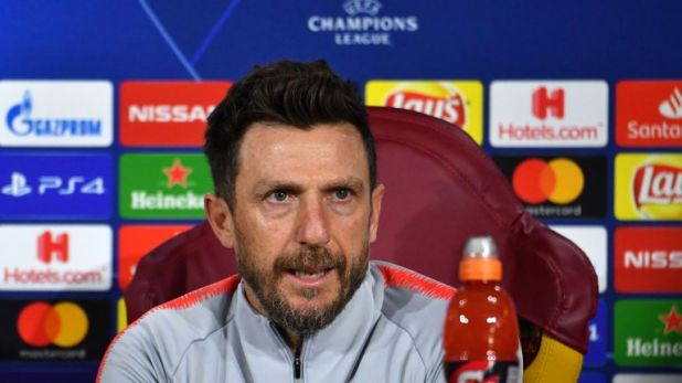 Eusebio Di Francesco challenges Roma to keep a clean sheet in first leg against Porto