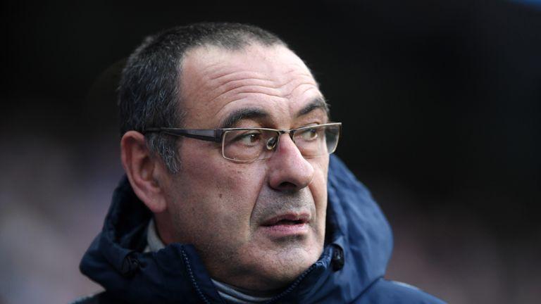 Maurizio Sarri hopes to avoid Napoli in the last eight of the Europa League