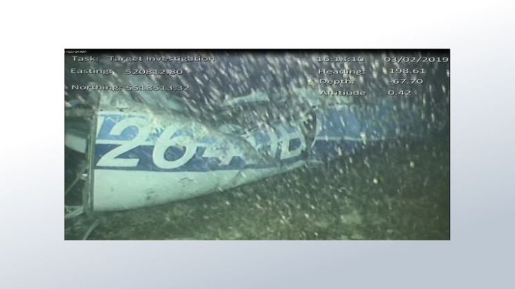 The wreckage of the plane carrying Emiliano Sala and pilot David Ibbotson was found in the English Channel on Sunday