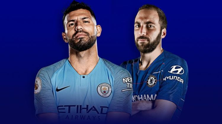 Sergio Aguero and Gonzalo Higuain will meet on Super Sunday