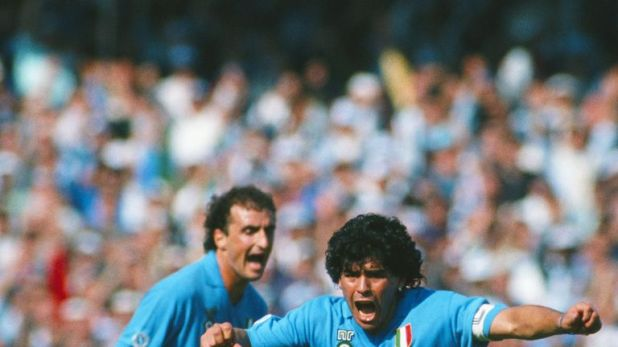 Zola believes Diego Maradona was best player of all-time after playing with him at Napoli
