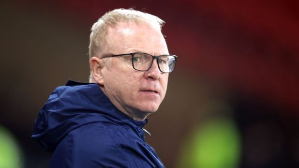Alex McLeish was in charge of Scotland for 12 games, his second spell as head coach of his country