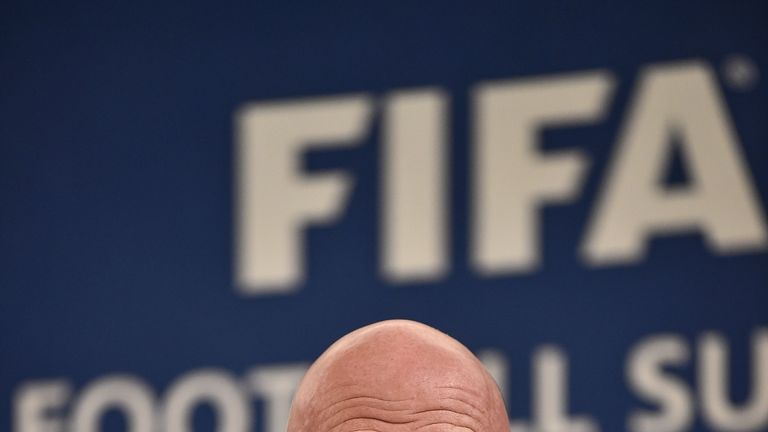Gianni Infantino wants to extend the 2022 World Cup from 32 to 48 teams