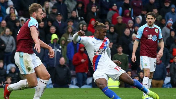 Wilfried Zaha has more goals in his last five starts than in his first 20 of the season
