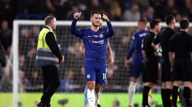 Eden Hazard has been Chelsea's most influential player this season
