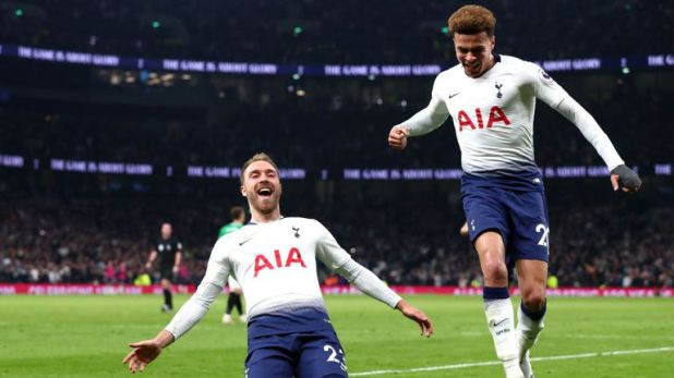 Christian Eriksen's stunning goal earned Spurs a late 1-0 win over Brighton