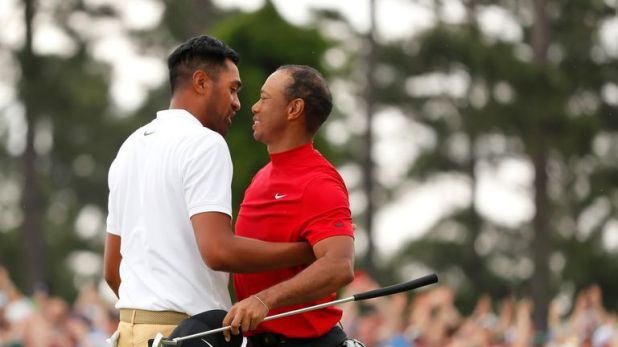 Tony Finau's driving was the longest of any player