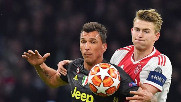 Juventus were outplayed for much of the first leg by Ajax