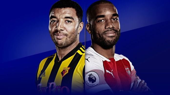 Watford hosts Arsenal in the Vicarage Road on Monday night football