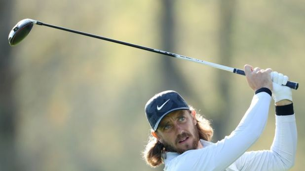 Fleetwood is four off the lead at the PGA Championship