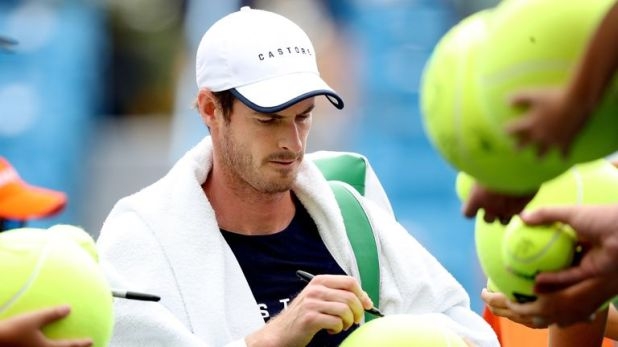 Andy Murray is stepping up his return to the singles court