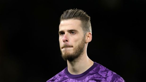 David de Gea will be out of contract at the end of the season