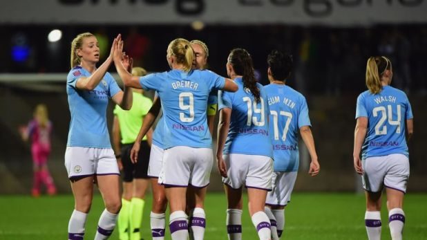 Manchester City ran riot against Swiss side Lugano