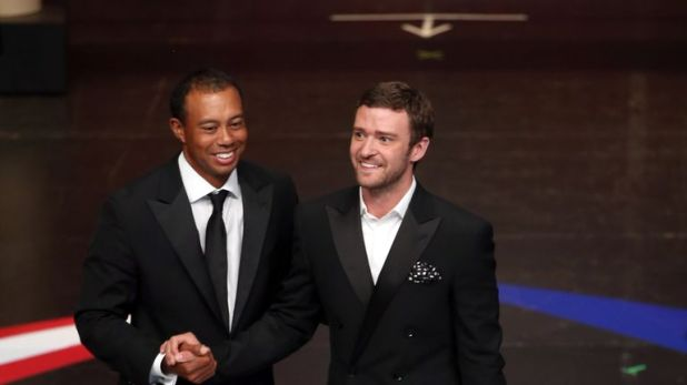 Tiger Woods and Justin Timberlake are part of a group who have pledged $6m to disaster efforts