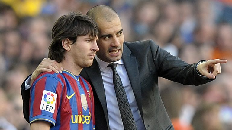 Could Messi and Pep Guardiola be reunited at Manchester City?