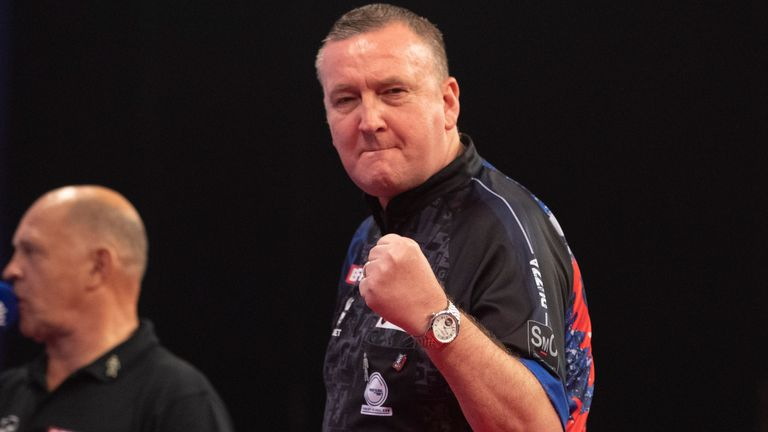 Glen Durrant has tested positive for COVID-19