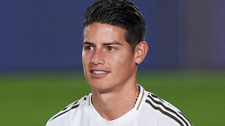 James Rodriguez is expected to have a doctor in Everton later this week