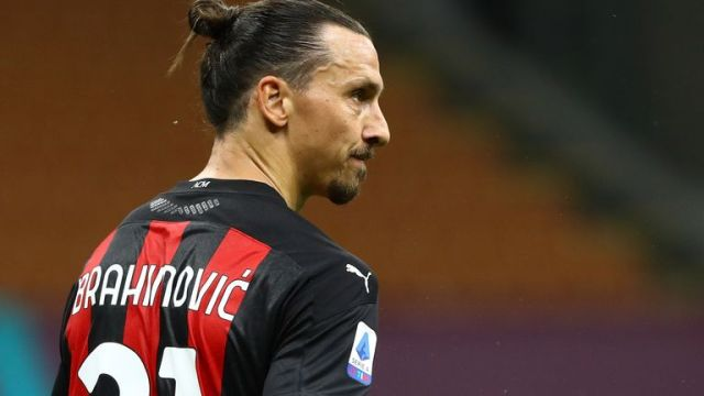 Zlatan Ibrahimovic will now begin isolating at home