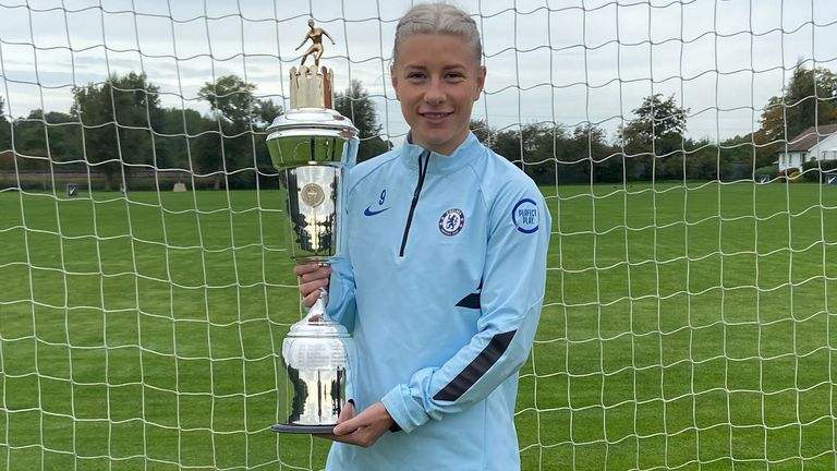 Bethany England's goals fired Chelsea to the WSL title